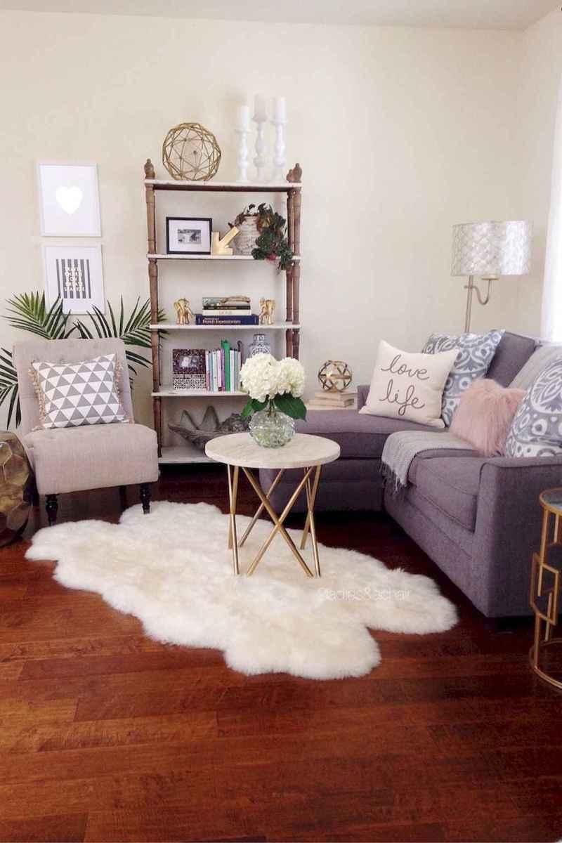 80 smart solution small apartment living room decor ideas (38)