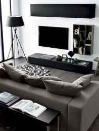 80 smart solution small apartment living room decor ideas (61)
