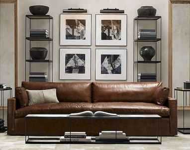 80 smart solution small apartment living room decor ideas (74)