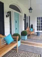 90 awesome front door farmhouse entrance decor ideas (1)