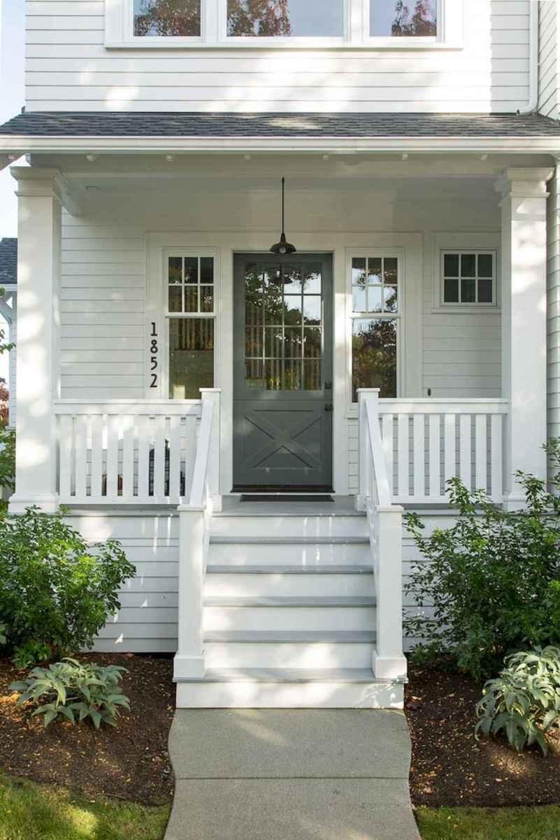 90 awesome front door farmhouse entrance decor ideas (25)