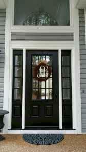 90 awesome front door farmhouse entrance decor ideas (6)