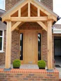 90 awesome front door farmhouse entrance decor ideas (82)