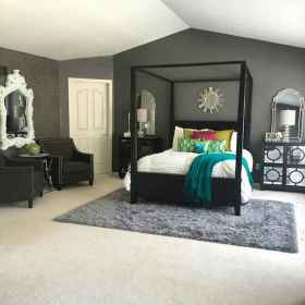 90 stunning modern master bedroom decor ideas (19)