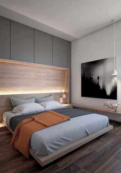 90 stunning modern master bedroom decor ideas (75)
