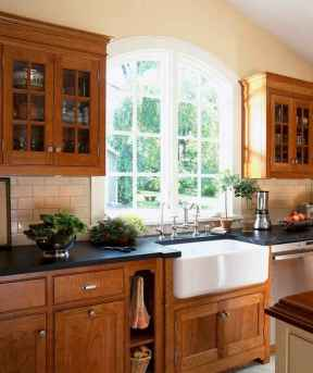 100 best oak kitchen cabinets ideas decoration for farmhouse style (20)
