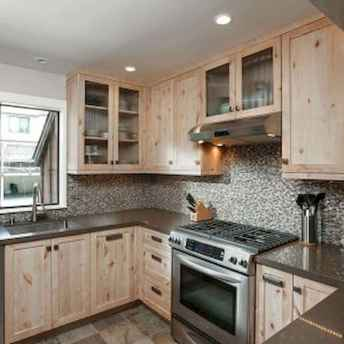 100 best oak kitchen cabinets ideas decoration for farmhouse style (21)