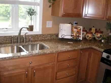 100 best oak kitchen cabinets ideas decoration for farmhouse style (31)