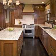 100 best oak kitchen cabinets ideas decoration for farmhouse style (32)