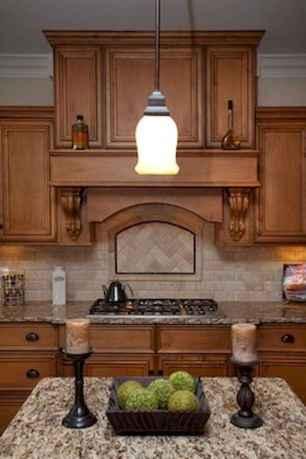 100 best oak kitchen cabinets ideas decoration for farmhouse style (51)