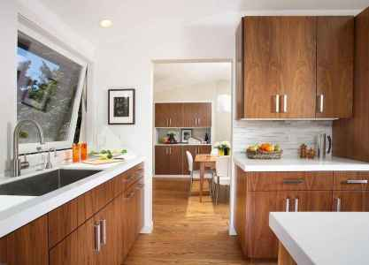 100 best oak kitchen cabinets ideas decoration for farmhouse style (59)
