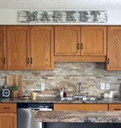 100 best oak kitchen cabinets ideas decoration for farmhouse style (95)