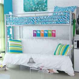 100+ cute loft beds college dorm room design ideas for girl (18)