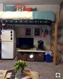 100+ cute loft beds college dorm room design ideas for girl (3)