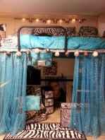 100+ cute loft beds college dorm room design ideas for girl (9)