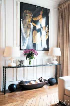 111 awesome parisian chic apartment decor ideas (109)