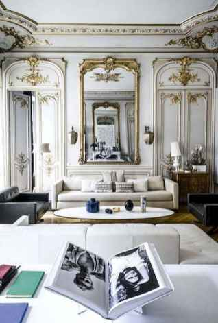 111 awesome parisian chic apartment decor ideas (64)