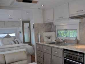40 top rv 5th wheels kitchen hacks makeover and renovations tips ideas to make your road trips awesome (26)
