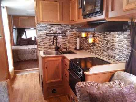 40 top rv 5th wheels kitchen hacks makeover and renovations tips ideas to make your road trips awesome (36)