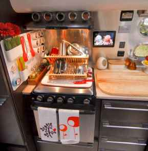 40 top rv 5th wheels kitchen hacks makeover and renovations tips ideas to make your road trips awesome (4)