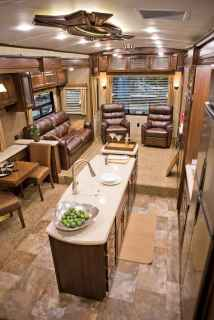 40 top rv 5th wheels kitchen hacks makeover and renovations tips ideas to make your road trips awesome (9)