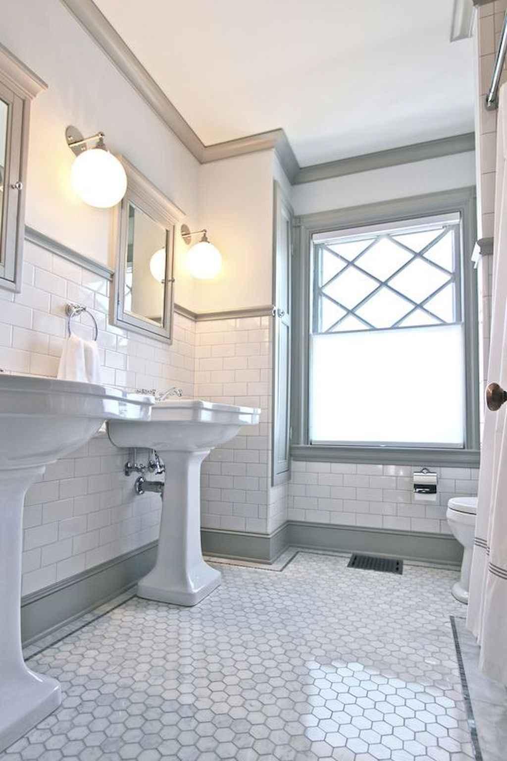 50 best farmhouse bathroom tile remodel ideas