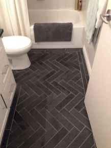 50 best farmhouse bathroom tile remodel ideas (44)