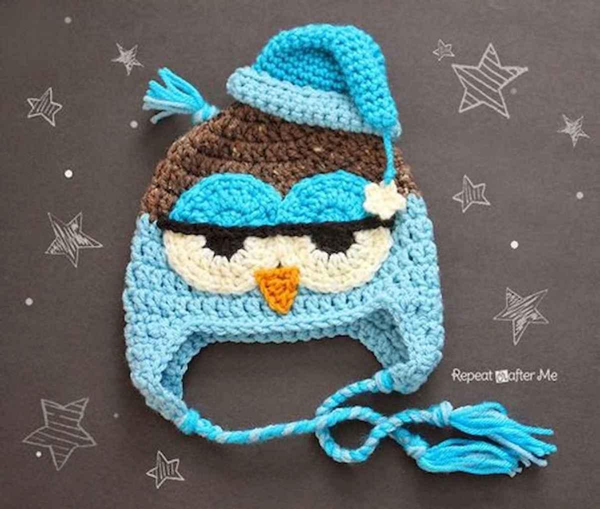 50 easy diy crochet animal scarf ideas for beginner (24)