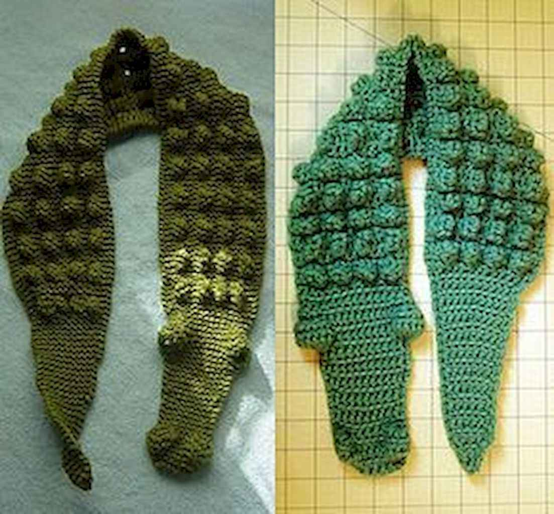 50 easy diy crochet animal scarf ideas for beginner (28)