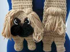 50 easy diy crochet animal scarf ideas for beginner (4)