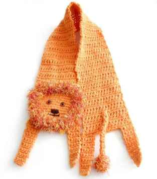 50 easy diy crochet animal scarf ideas for beginner (51)