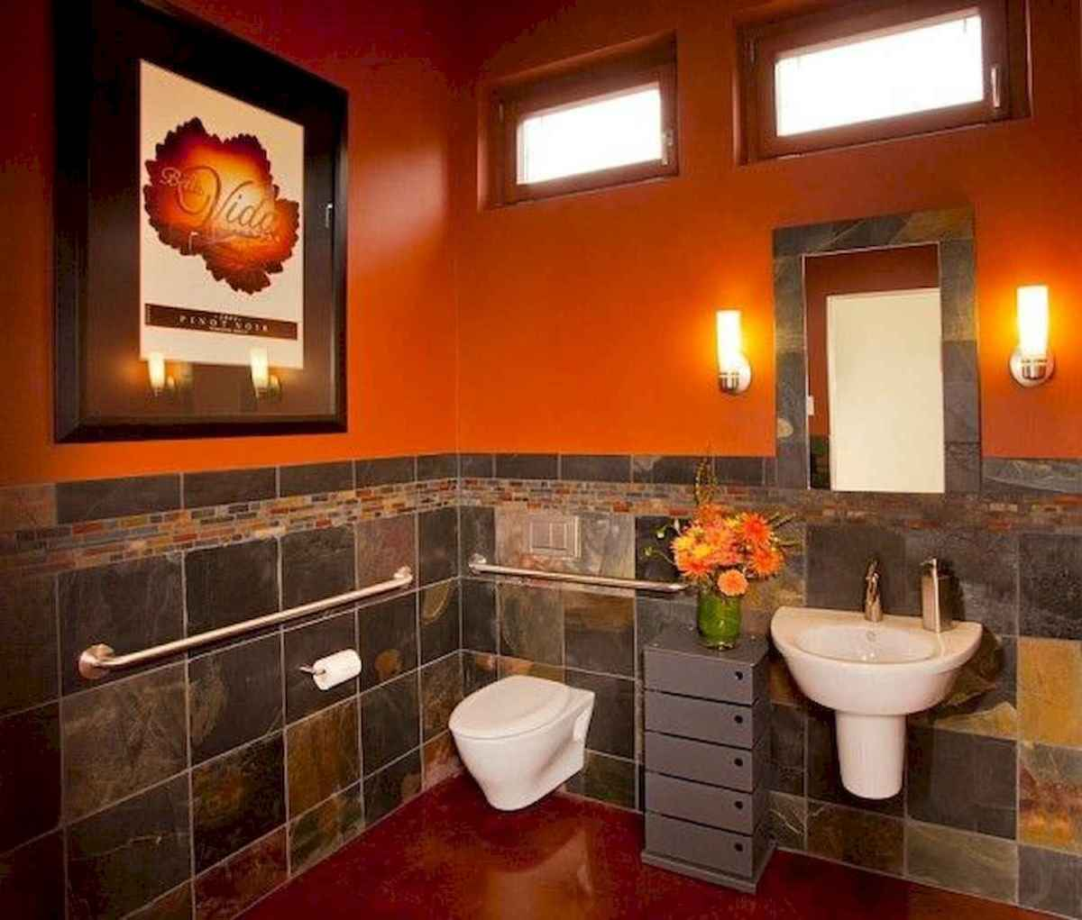 55 colorful and relax bathroom remodel ideas (29)