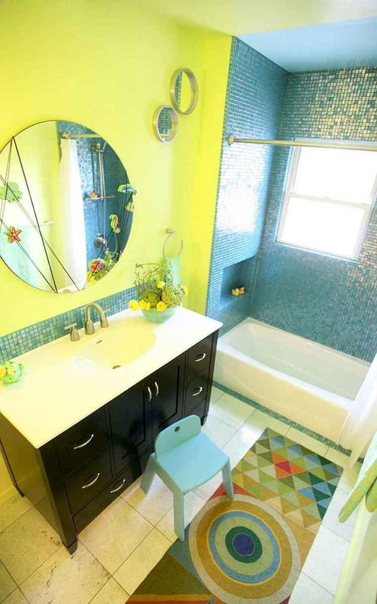 55 colorful and relax bathroom remodel ideas (48)