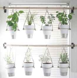 60 easy to try herb garden indoor ideas (34)