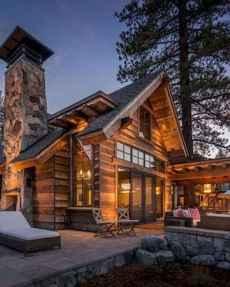 60 rustic farmhouse exterior decor ideas (25)