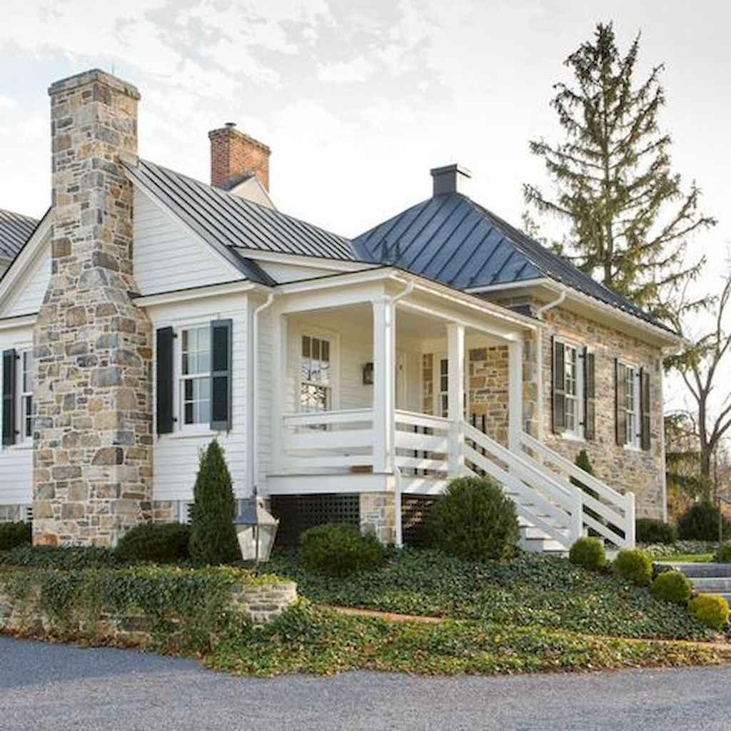 65 stunning farmhouse porch railing decor ideas (16)