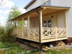 65 stunning farmhouse porch railing decor ideas (22)