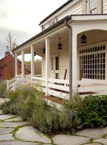 65 stunning farmhouse porch railing decor ideas (3)