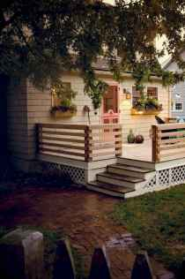 65 stunning farmhouse porch railing decor ideas (31)