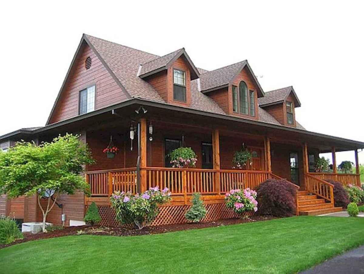 65 stunning farmhouse porch railing decor ideas (32)
