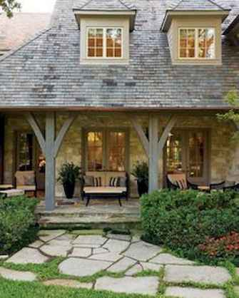 65 stunning farmhouse porch railing decor ideas (46)