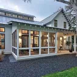 65 Stunning Farmhouse Porch Railing Decor Ideas