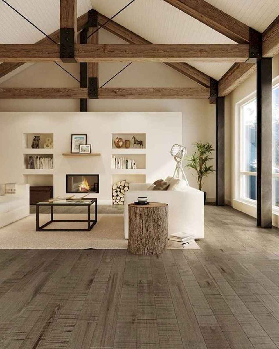 66 best farmhouse living room remodel ideas (57)