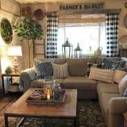 66 best farmhouse living room remodel ideas (59)