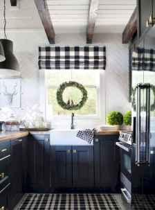 70 pretty farmhouse kitchen curtains decor ideas (18)
