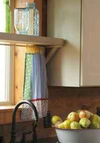 70 pretty farmhouse kitchen curtains decor ideas (45)