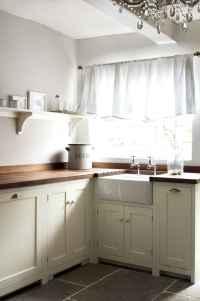 70 pretty farmhouse kitchen curtains decor ideas (59)