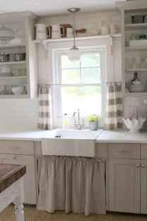 70 pretty farmhouse kitchen curtains decor ideas (68)