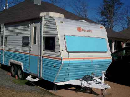 70 spectacular vintage trailers rv living ideas (1)