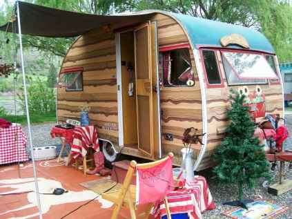 70 spectacular vintage trailers rv living ideas (22)